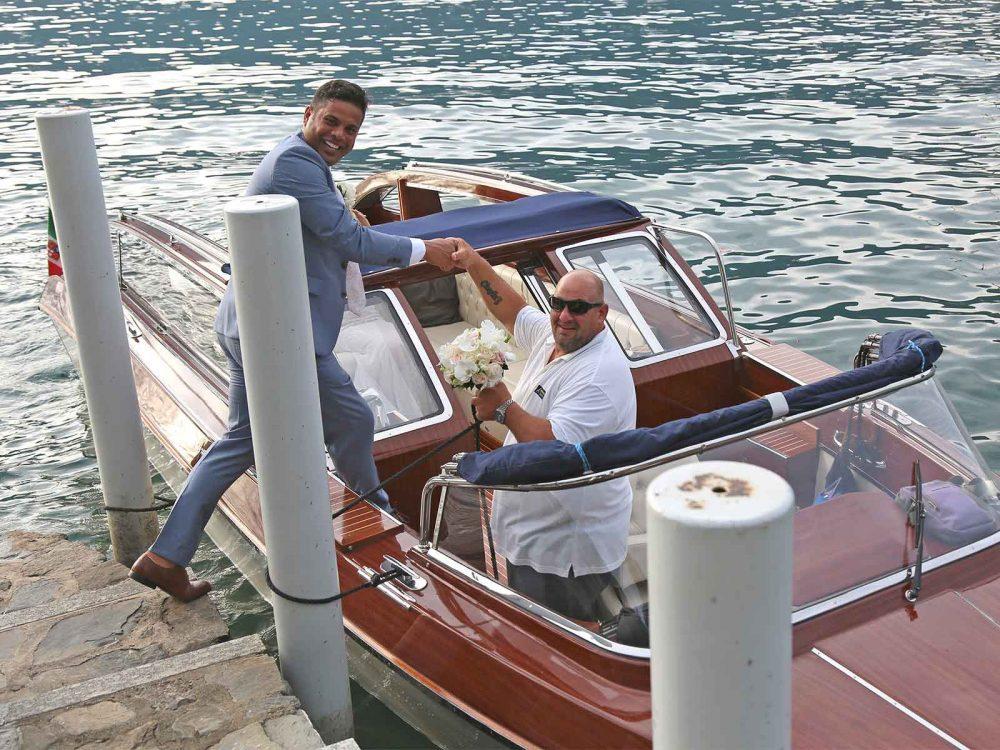 Wedding Taxi Boat Lake Como